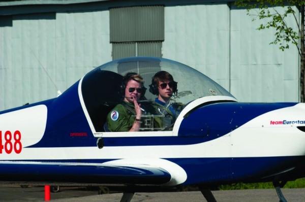 Mikko ja Samuli lennonopettajaputkessa