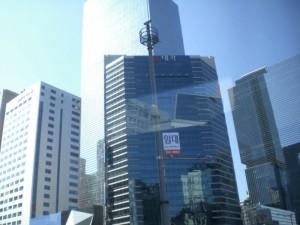 Modernisoidun Manhattanin tunnelmaa Soulissa