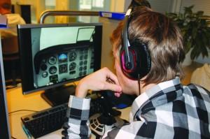 Arc:in kautta ILS -lähestymiseen EFHA opiskelijan henkilökohtaisella PC-simulla